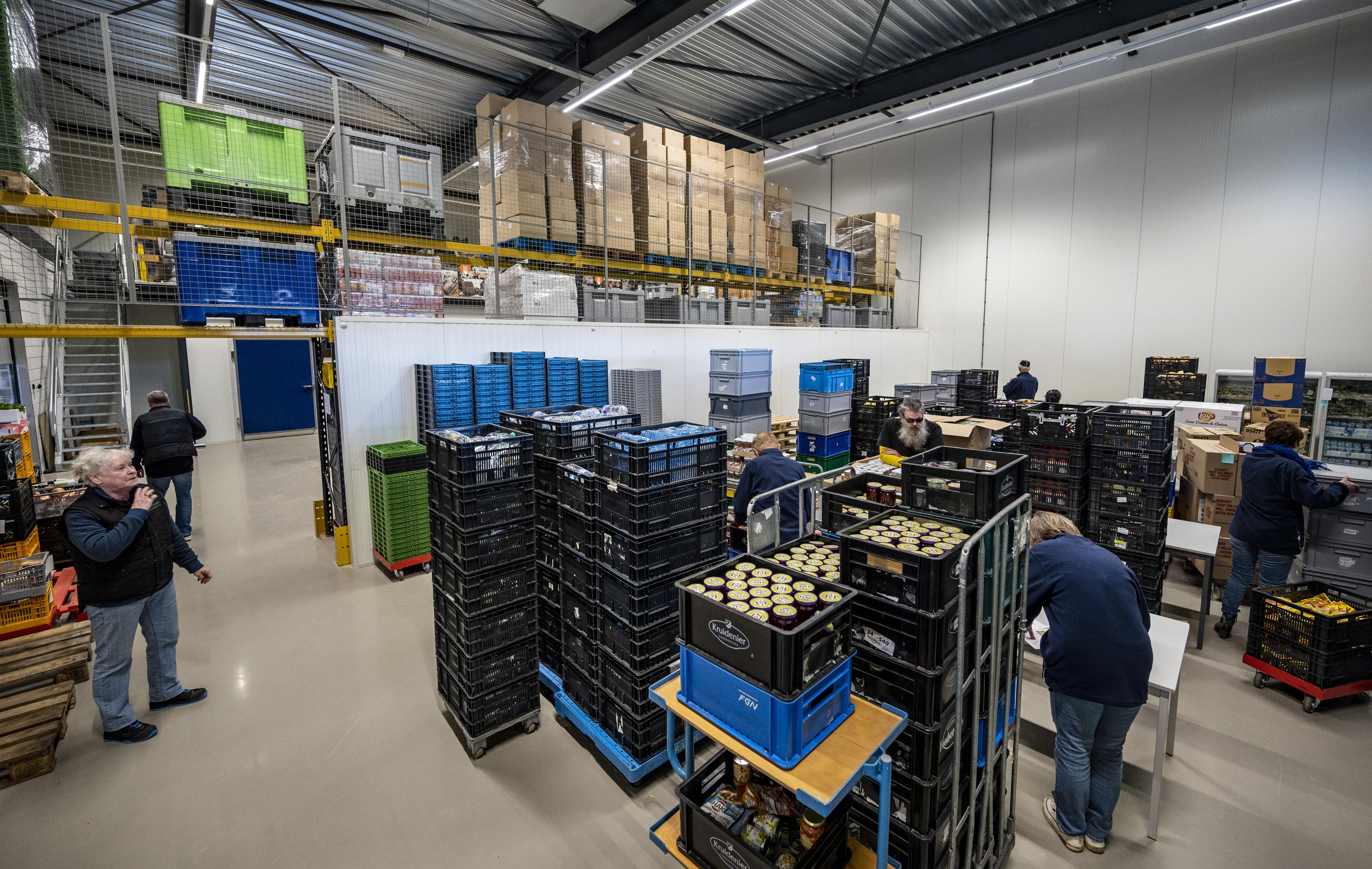 Voedseltekort bij Voedselbank Haarlemmermeer