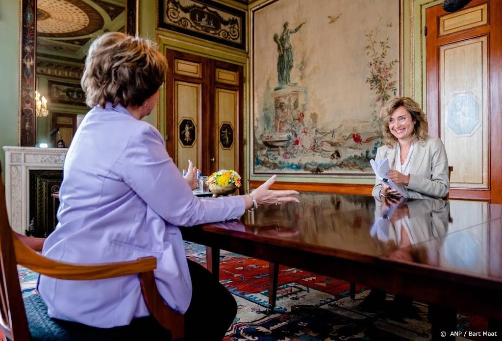 Hamer: coalitieonderhandelingen moeten half augustus beginnen