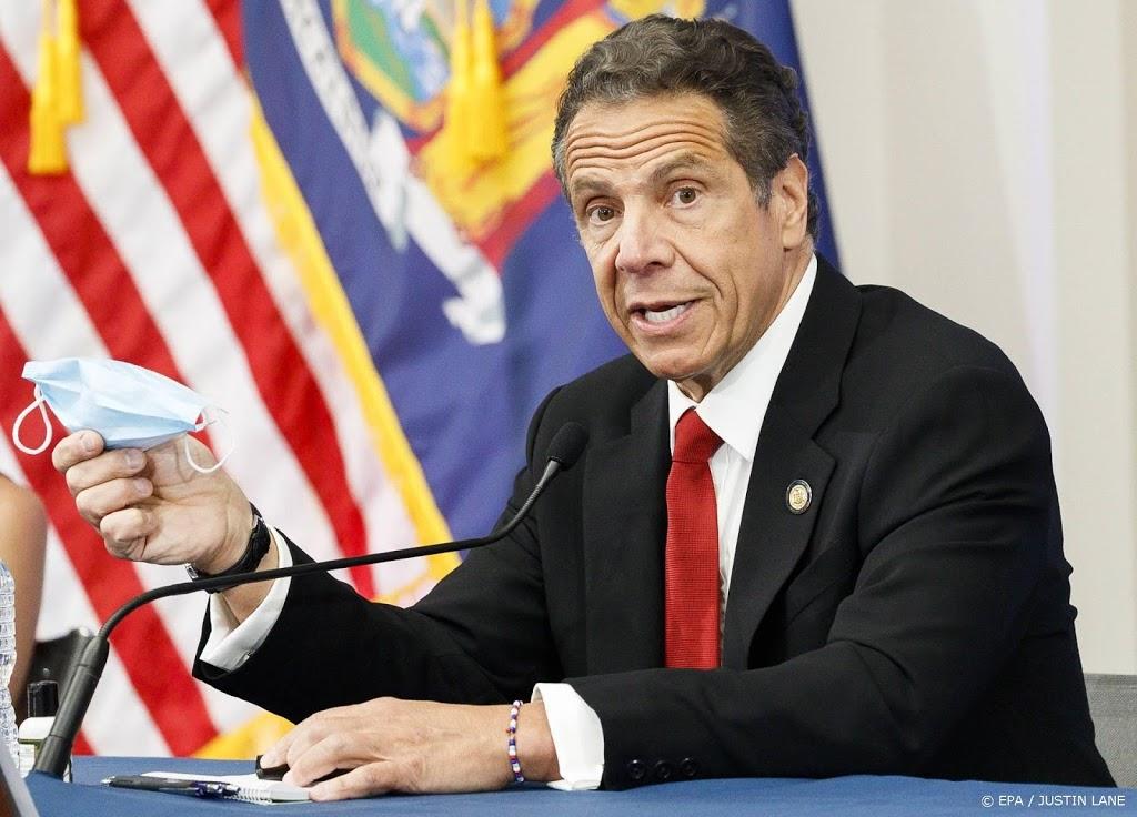 Gouverneur Cuomo van New York weigert af te treden
