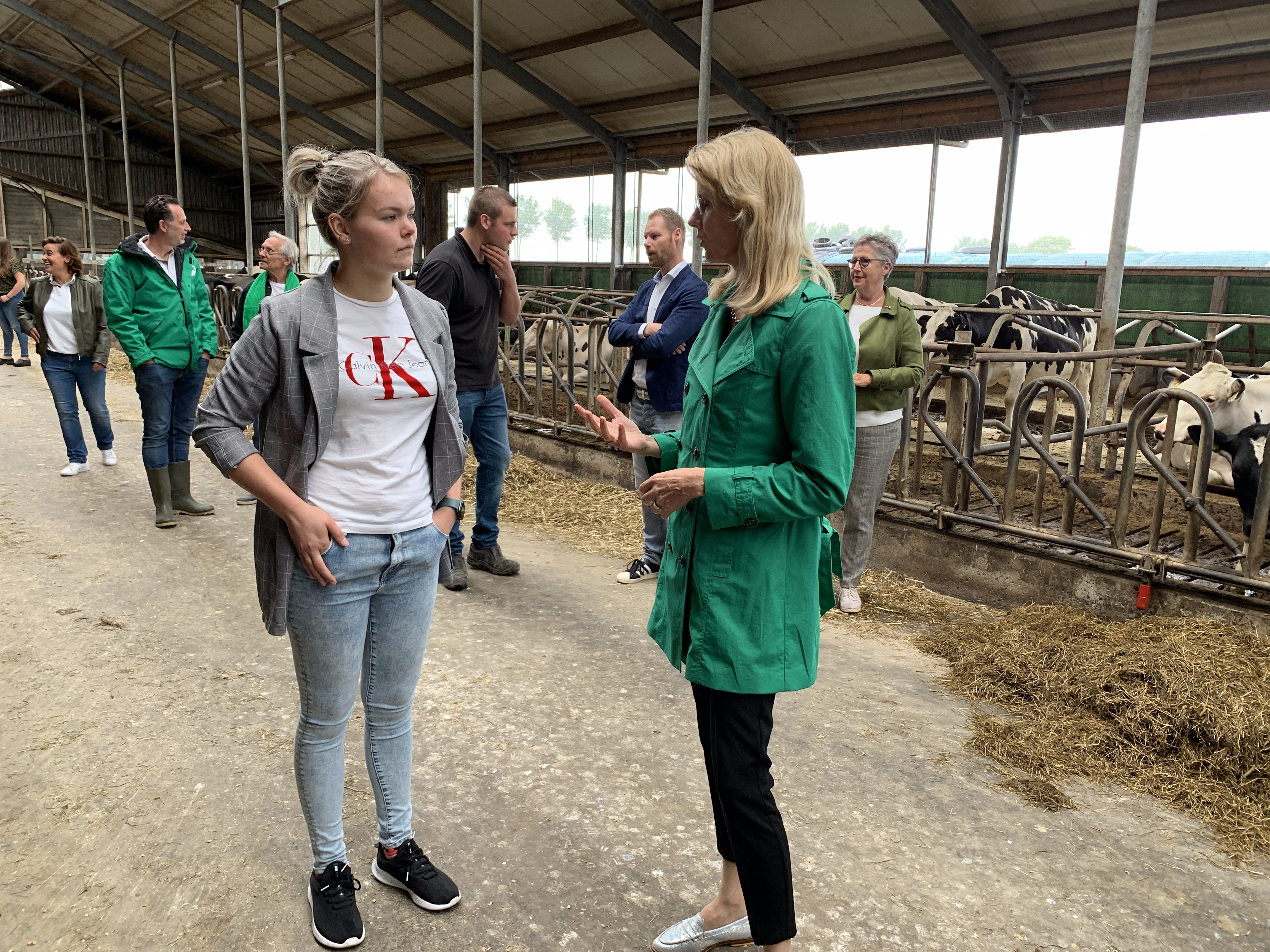 Mona Keijzer op bliksemcampagne in Beemster en Twisk om lijsttrekker CDA te worden