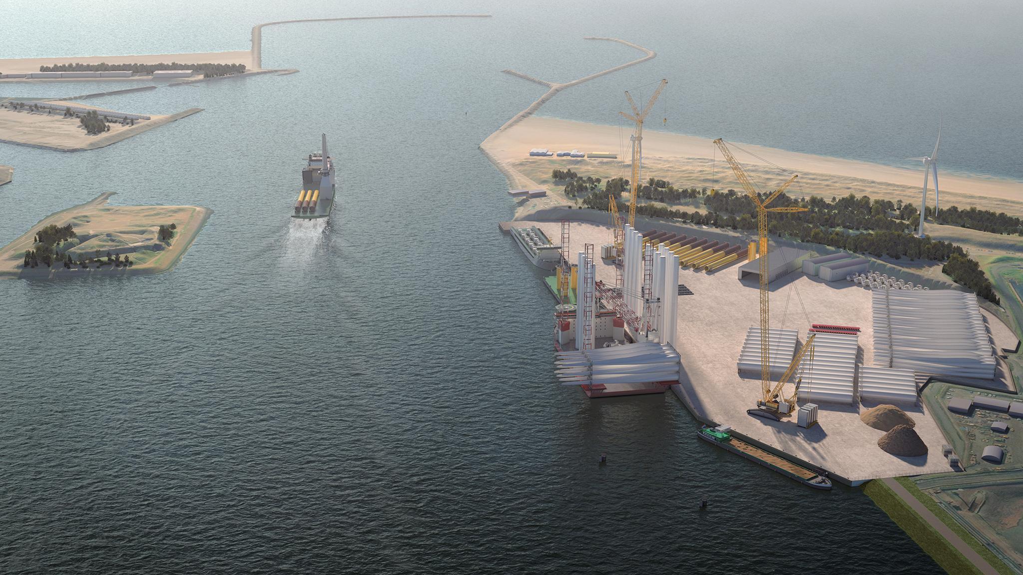 Eindelijk akkoord over de aanleg van de Energiehaven bij Tata Steel. De initiatiefnemers reageren verheugd: 'De ambitie om de IJmond uit te groeien tot het centrum van wind op zee in Nederland is een stuk dichterbij gekomen'