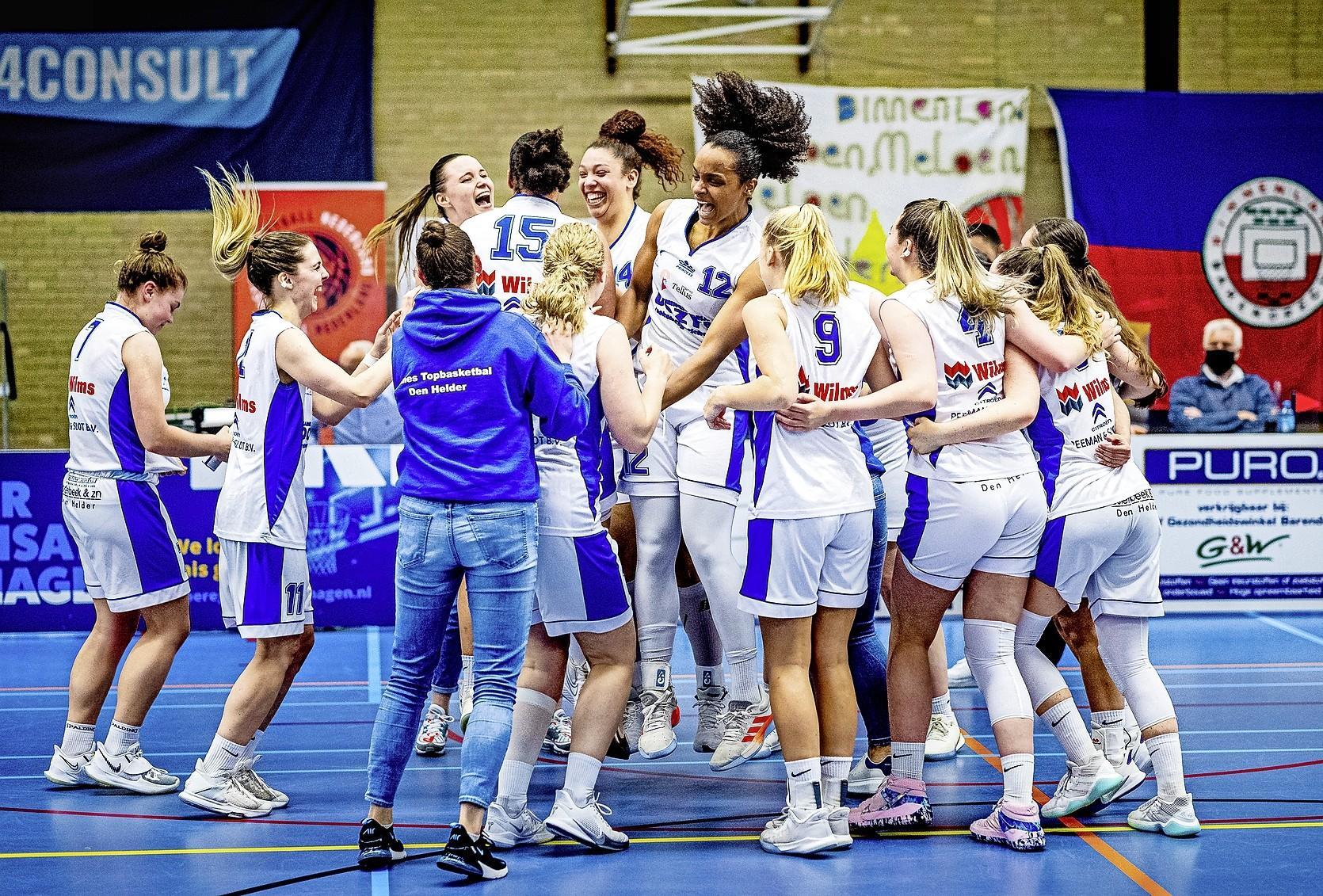 De titel is voor Den Helder: verleden Helderse basketbalsters heeft met vijftiende landskampioenschap weer een toekomst [video]