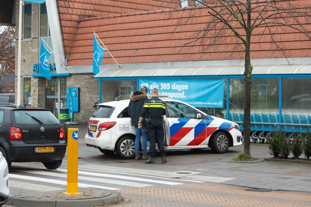Vechtpartij bij Albert Heijn in Baarn om coronamaatregelen