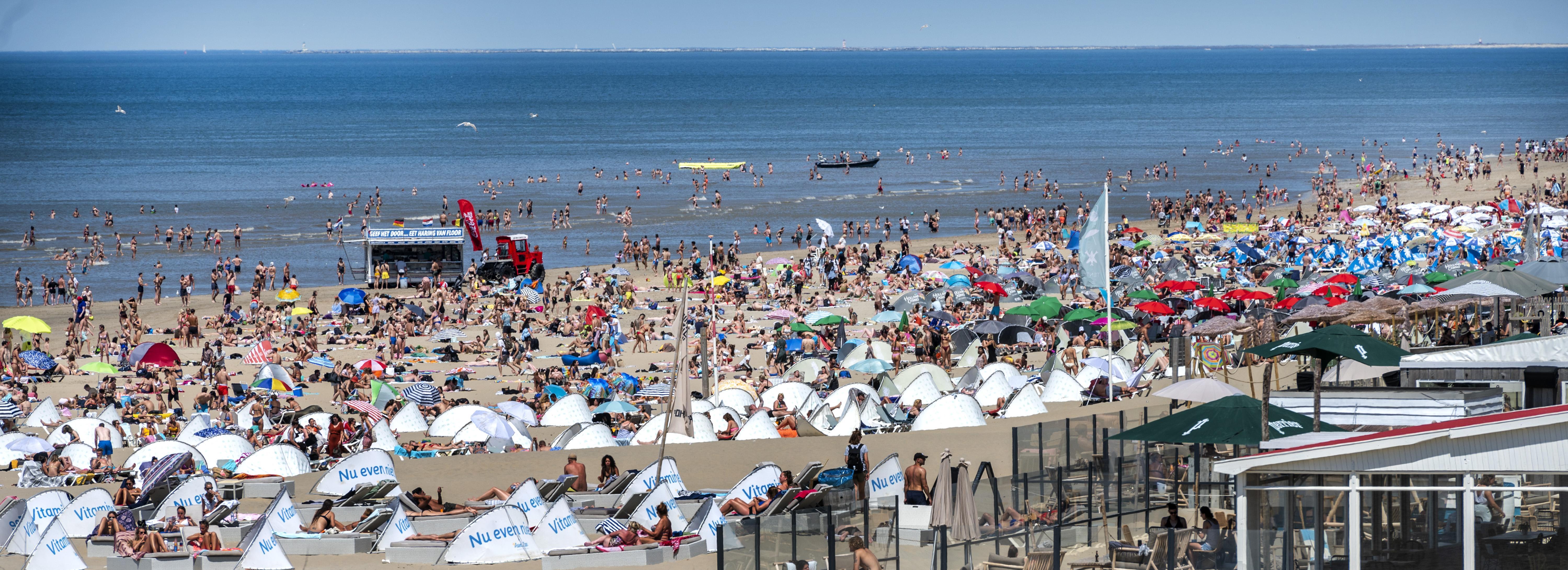 Wegen naar stranden Bloemendaal en Zandvoort mogelijk weer afgesloten