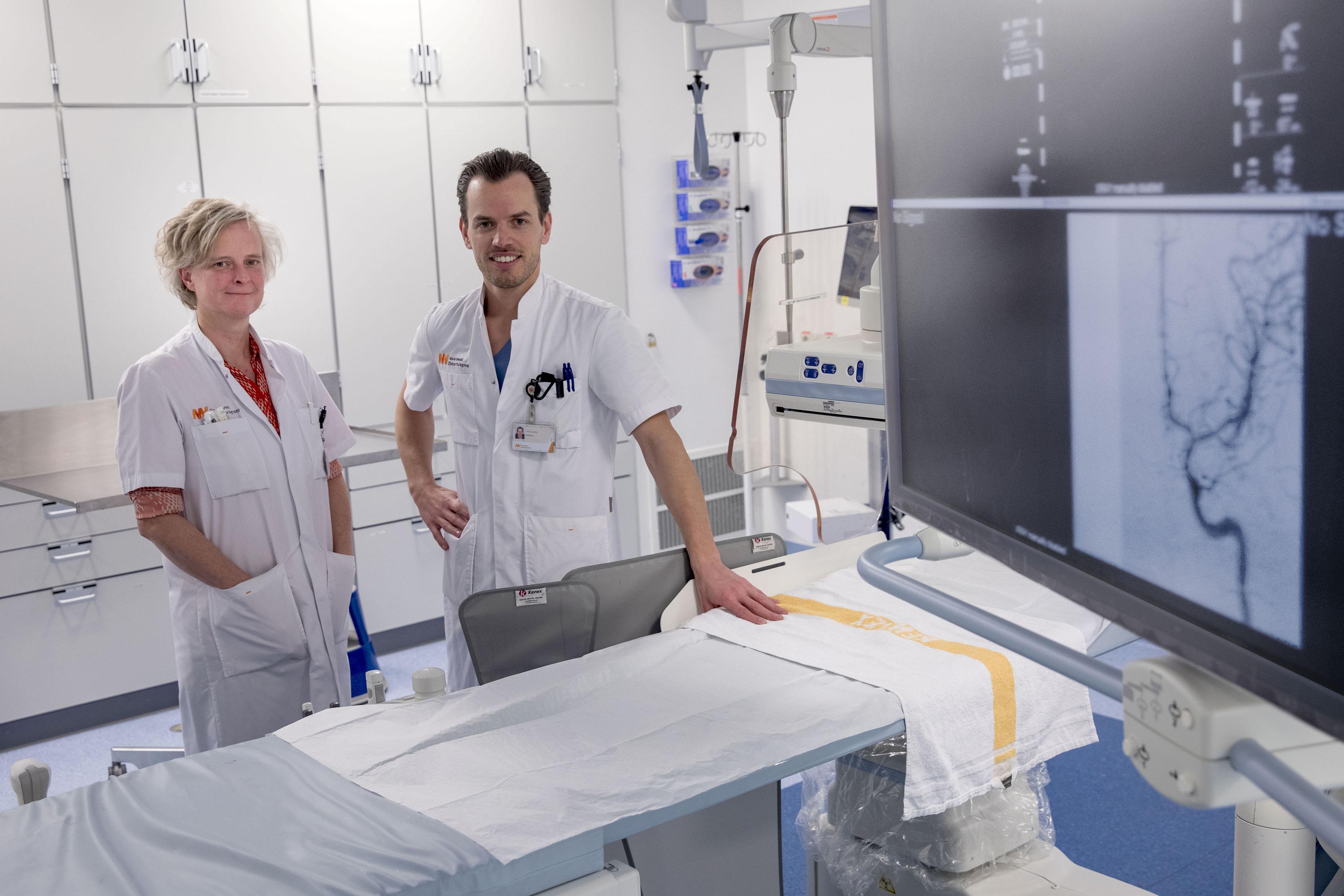 Behandeling patiënten met herseninfarct in NWZ in Alkmaar blijkt goede zet. 'De eerste 24 uur zijn heel belangrijk'