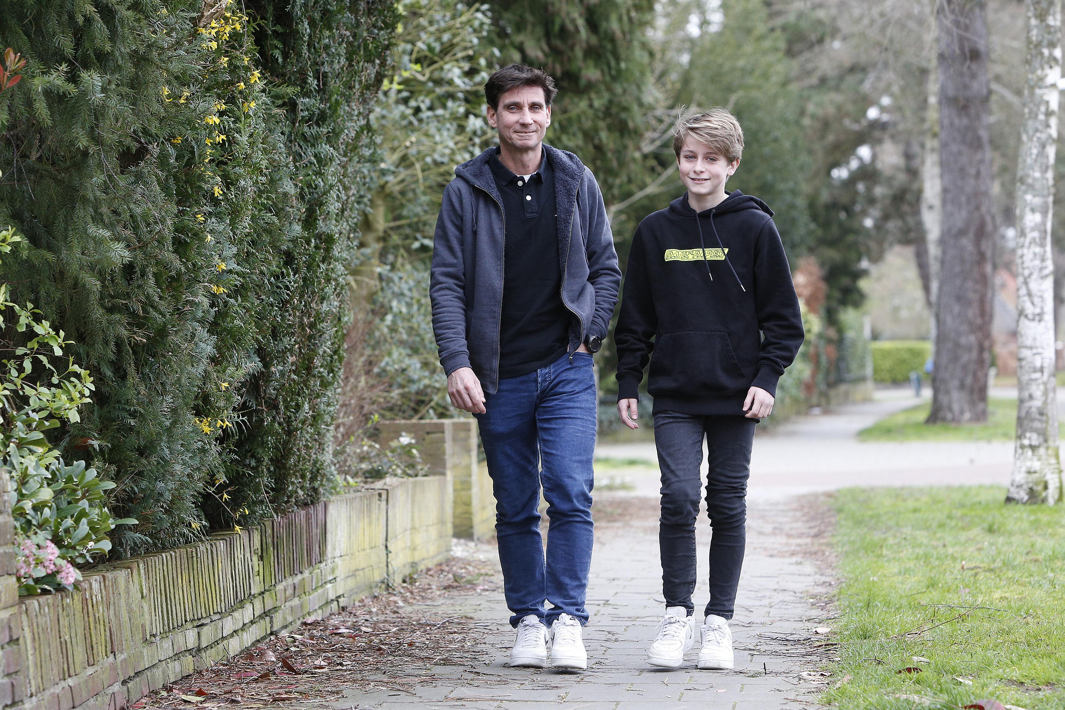 In Bussum woonachtige Italiaan Filippo Messori won 23 jaar geleden van een piepjonge Roger Federer: 'Aan de cijfers te zien moet het wel spannend zijn geweest, maar ik kan me er echt niets van herinneren'