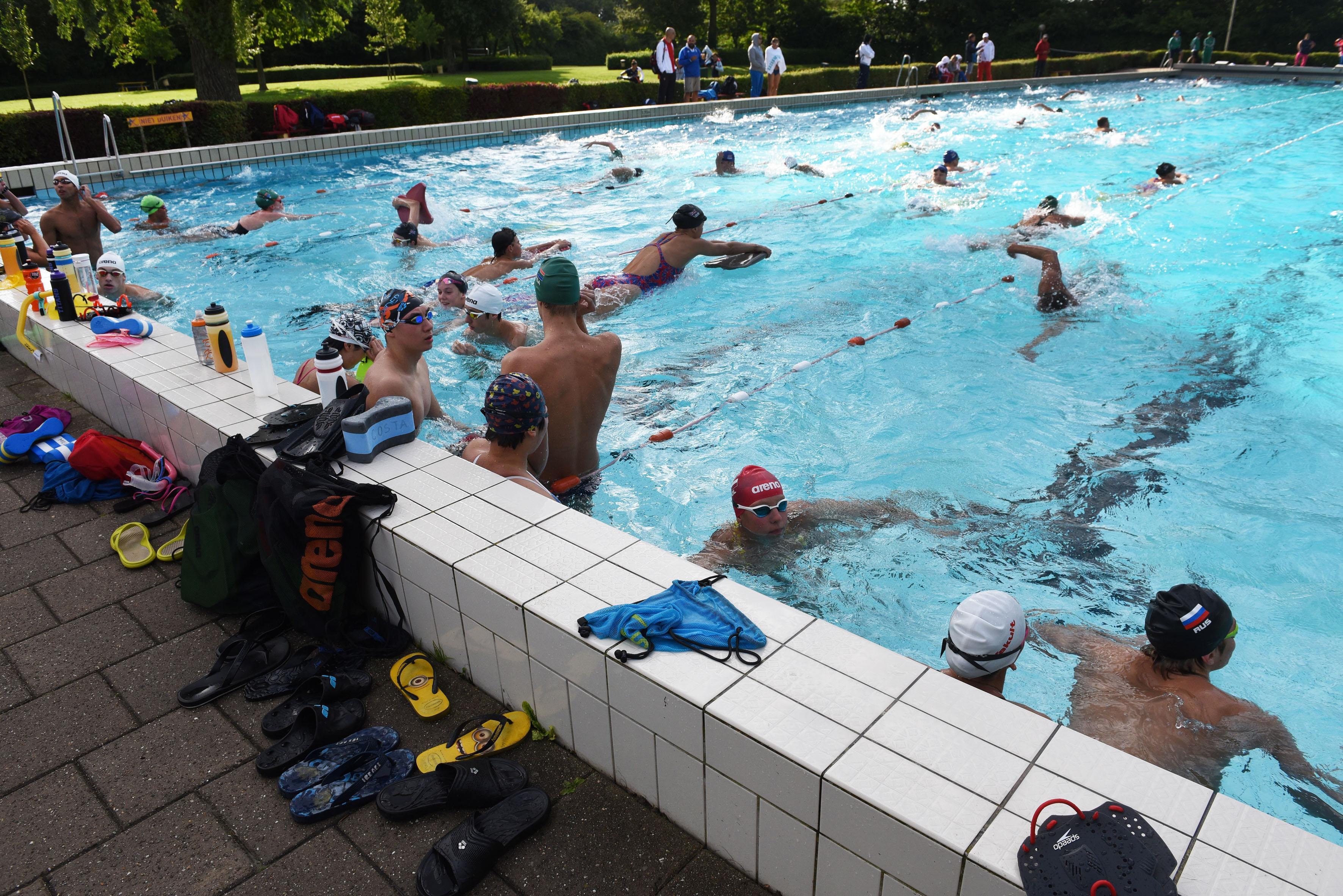 Veilig afkoelen in de zomerhitte, leg alvast je handdoek neer bij het plaatselijke zwembad