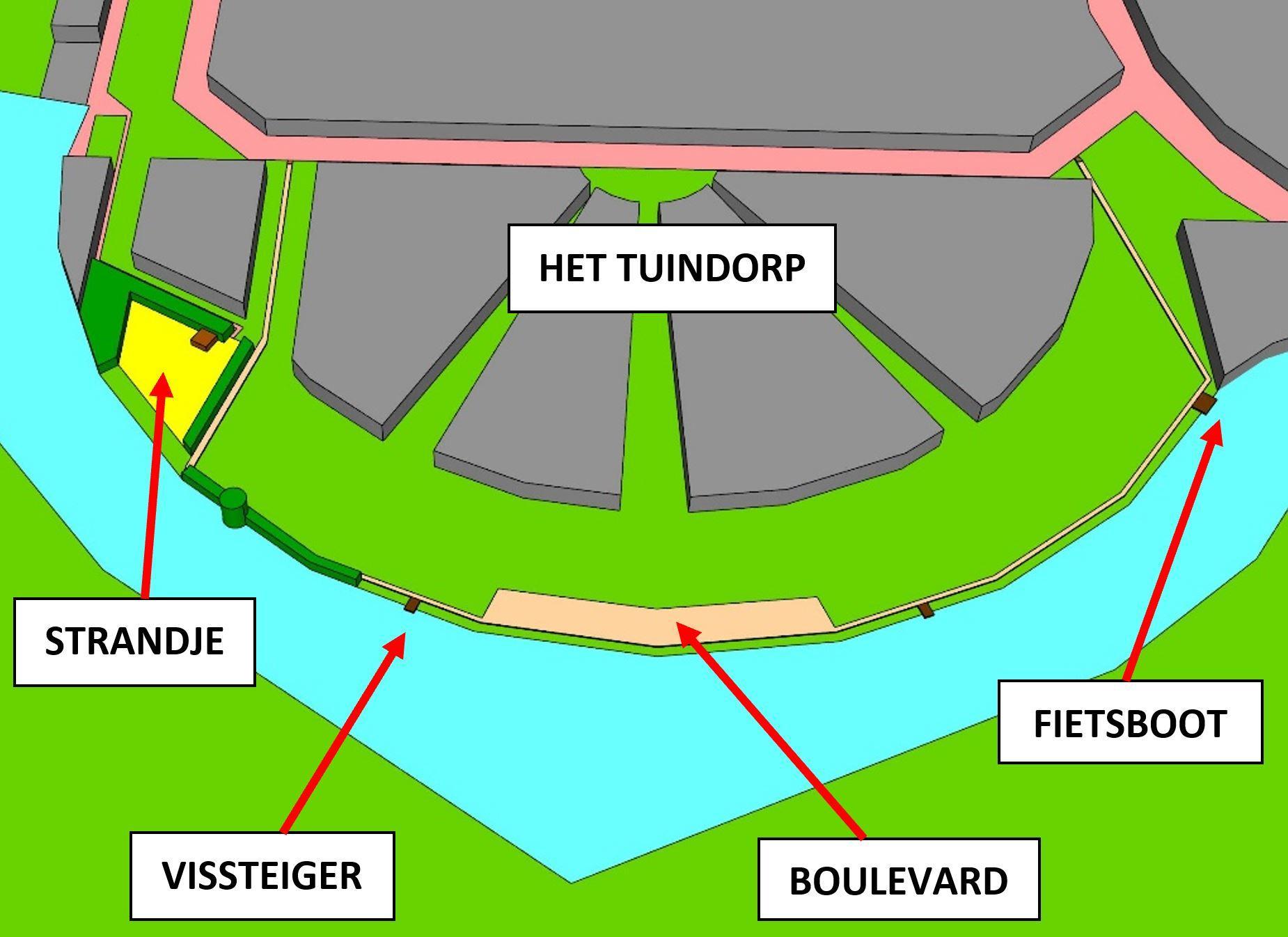 'Afgeslankt' plan voor Baarns Eemstrandje met beachbar en boulevard voor evenementen