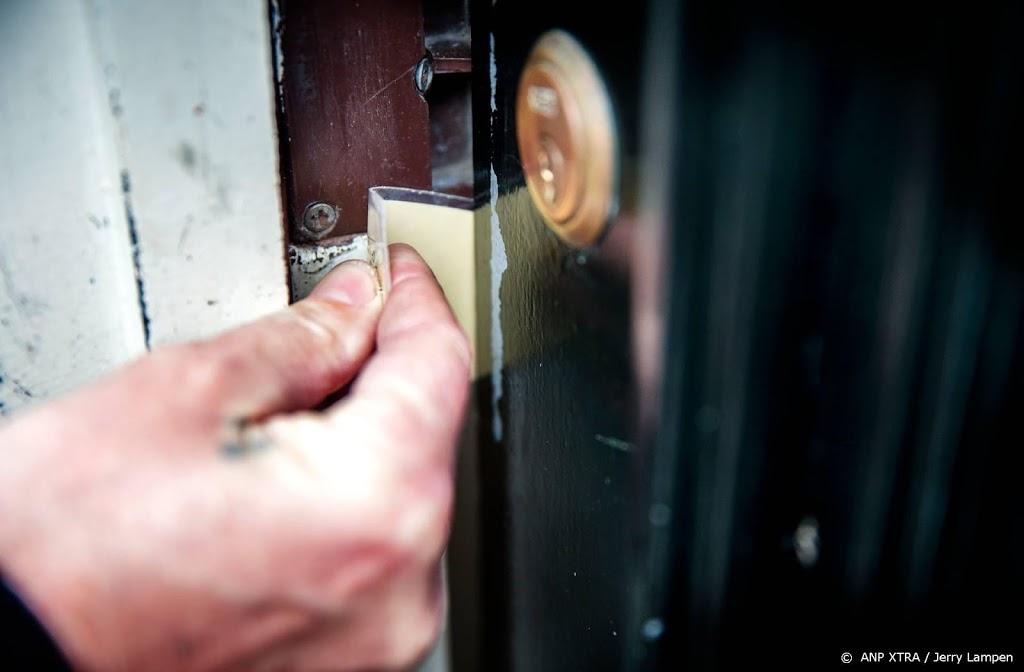 Politie ziet forse afname aantal woninginbraken in 2020