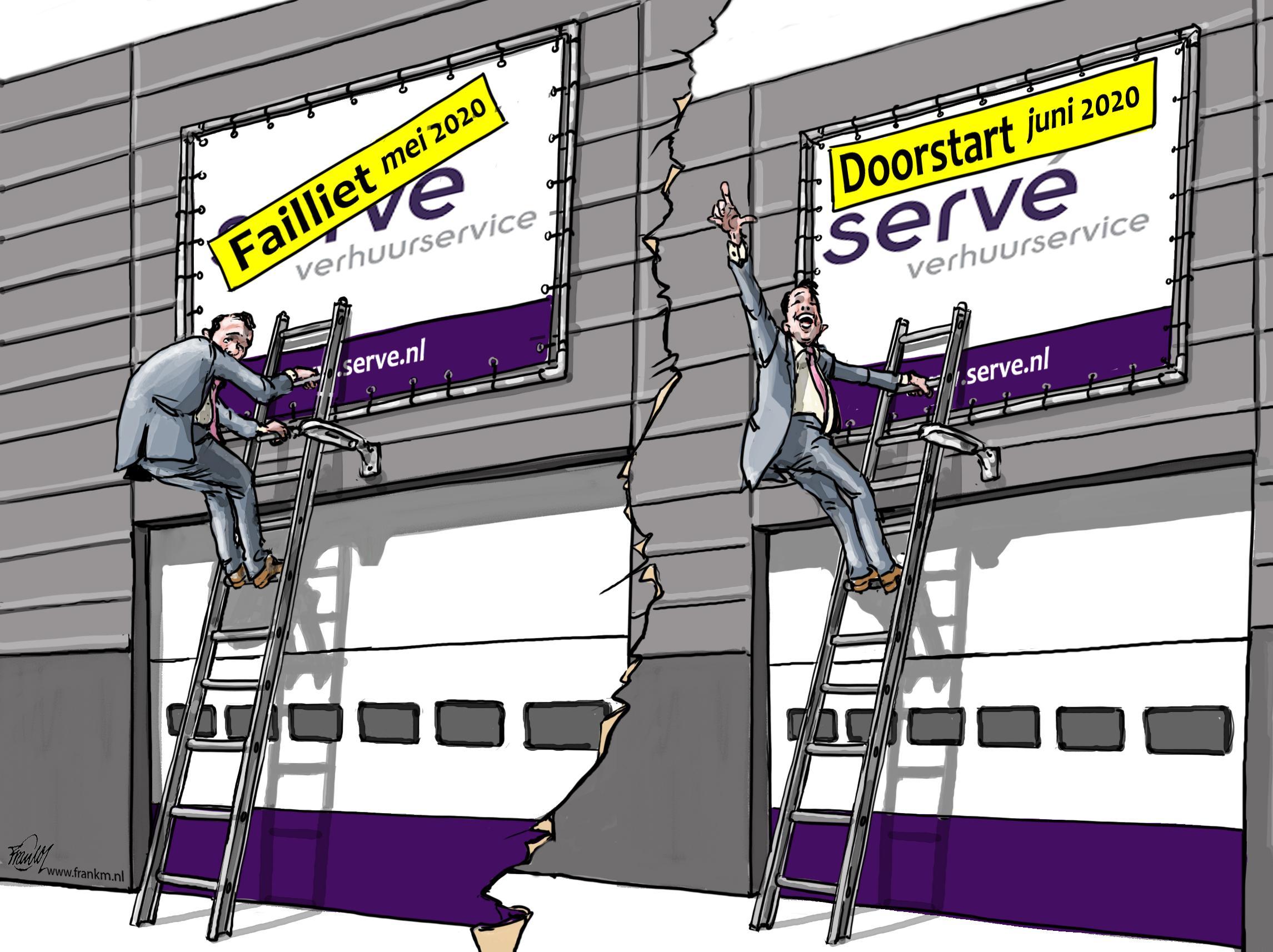 Oud-medewerkers verbaasd en verontwaardigd over faillissement en doorstart van Servé: 'Dit geeft een wrange nasmaak'