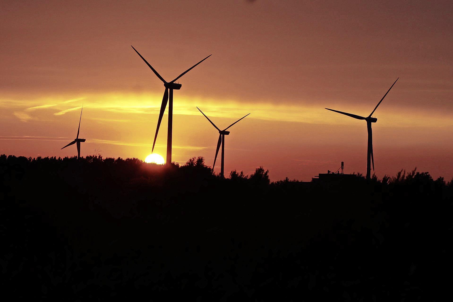 Eigenlijk geen goede plekken voor nieuwe windturbines bij Leiden, Alphen en aan de kust