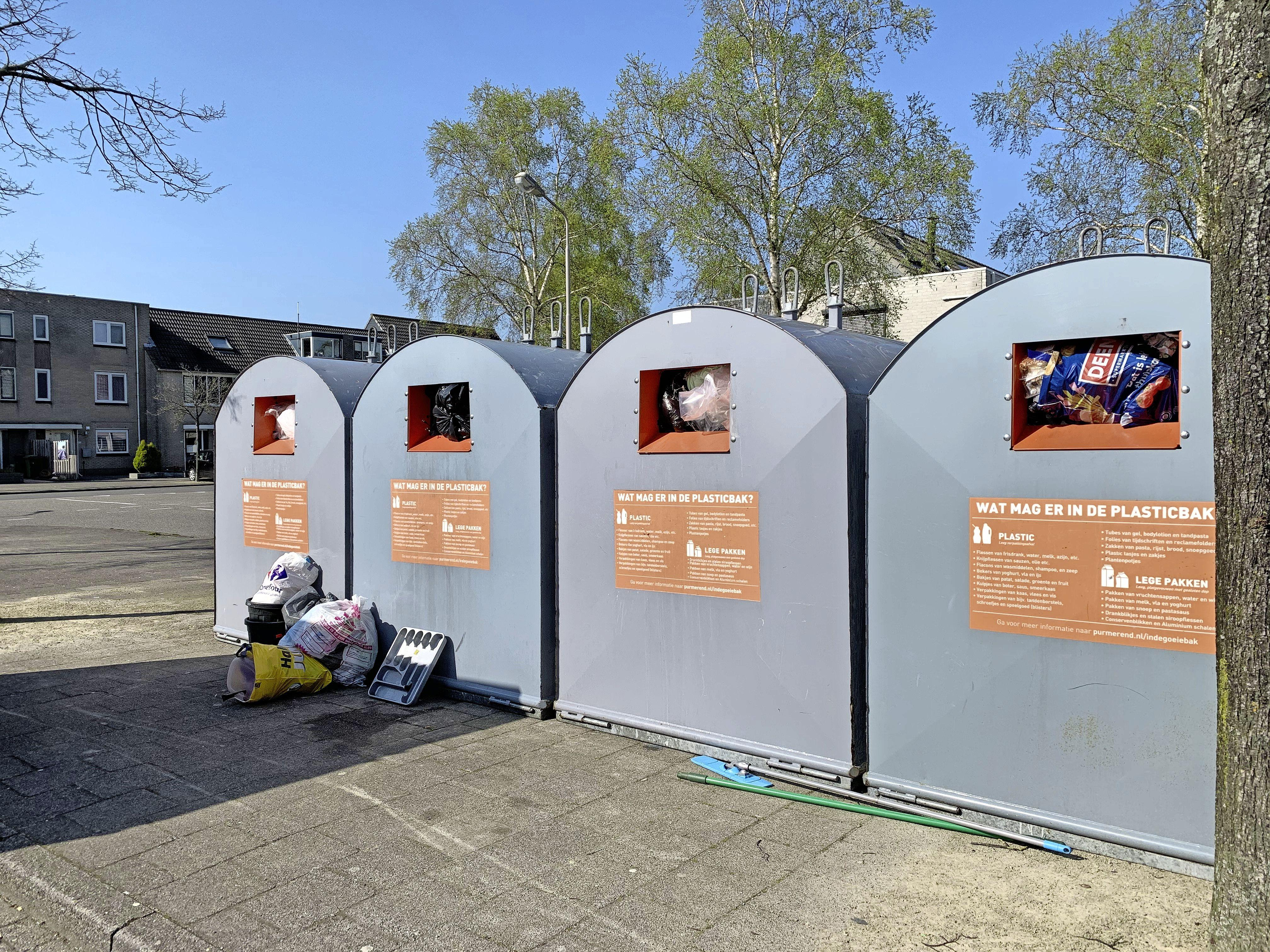 Afvalenquête in Purmerend: ieder eigen plasticbak, niet meer zeulen naar centrale containers