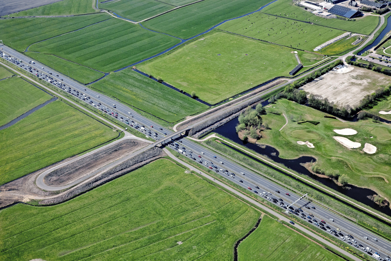 Geen probleem meer met stikstof: Nieuw plan voor aansluiting Heiloo op de A9 is klaar