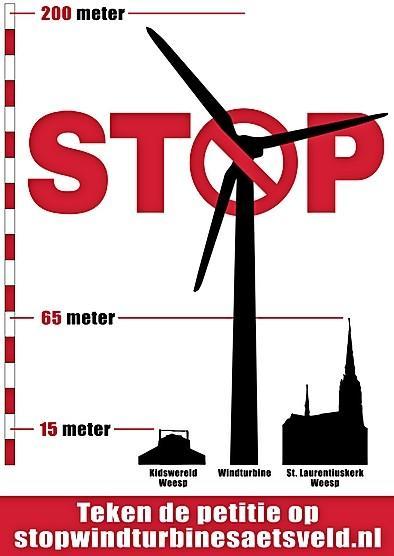 Weesp zit met windmolens in de maag: WSP en CDA signaleren onrust onder inwoners over komst mega-turbines in Bloemendalerpolder