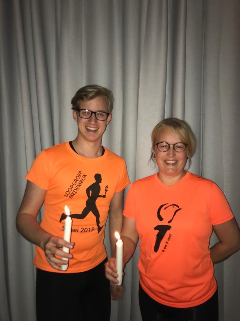 Bevrijdingsestafette Loopgroep Medemblik nadert finish: 'Ondanks dat we niet startten in Wageningen, had ik toch kippenvel'