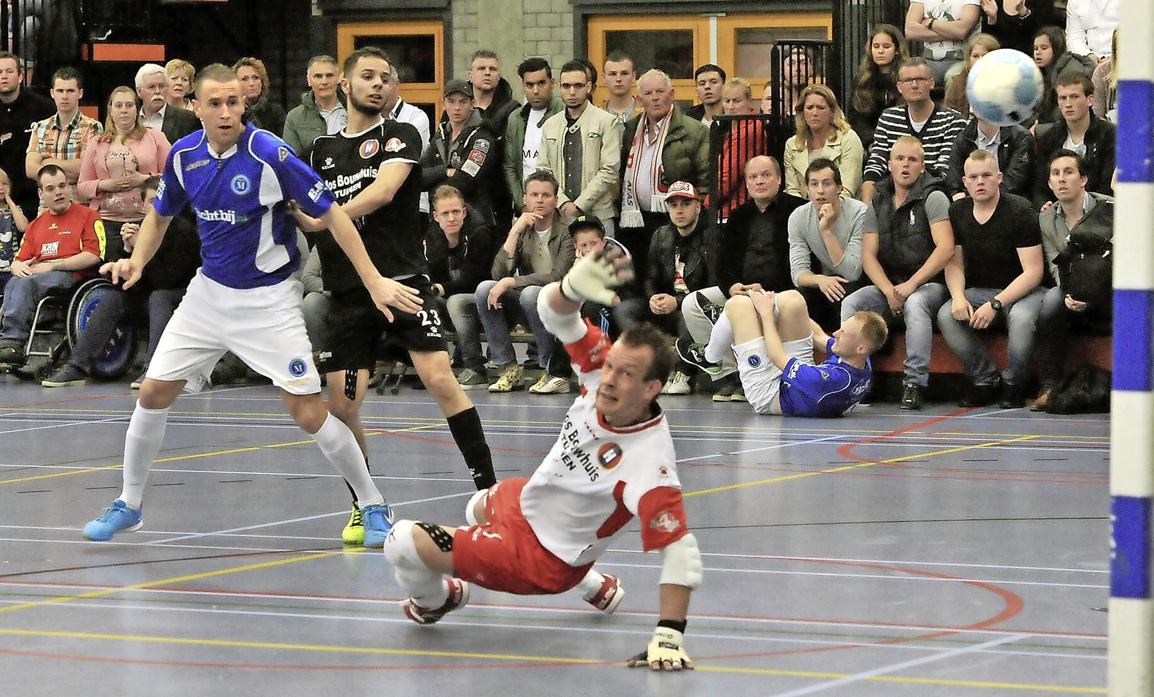 Zaalvoetballer Sander de Zwart bewaart beste herinneringen aan zijn derde landstitel met FC Marlène: 'Daarin was mijn bijdrage veel groter en voelt het meest als mijn eigen kampioenschap'