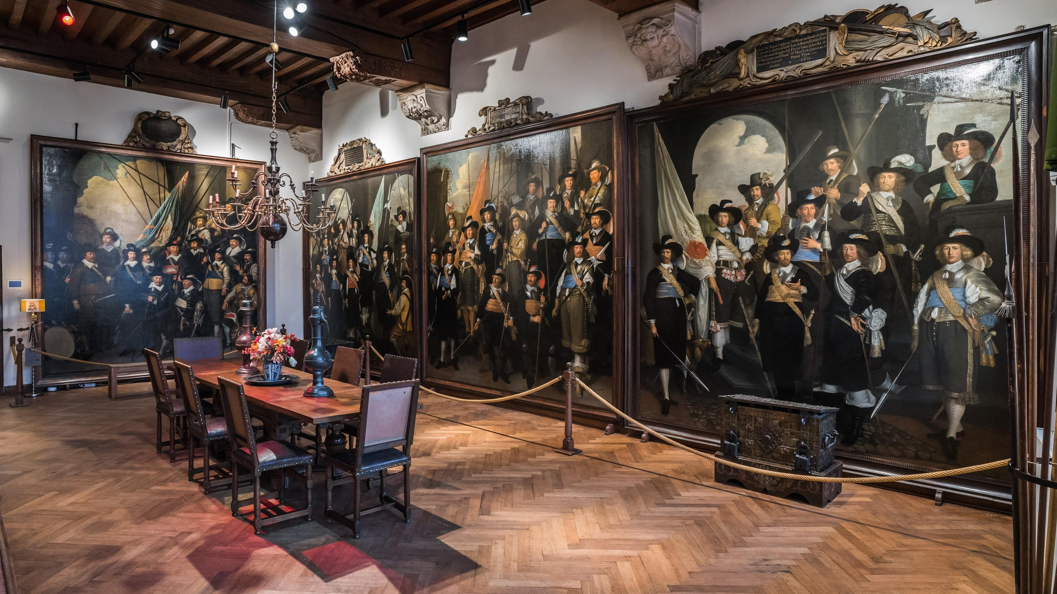 Blind date met historische figuren in het Westfries Museum in Hoorn