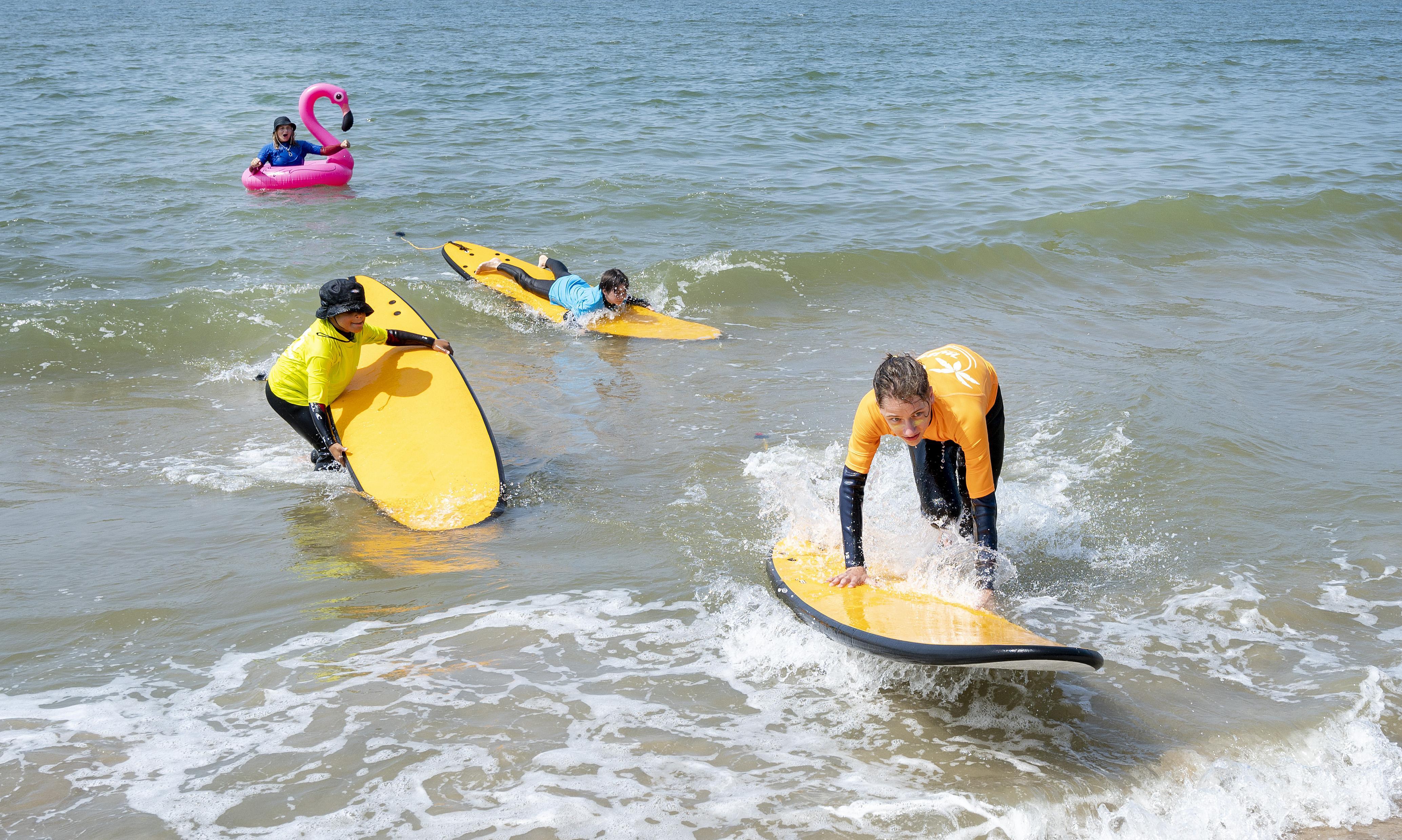 Van de camping naar het Kidscamp op het Bloemendaalse strand: 'De ouders zie je alleen in het begin van de dag'