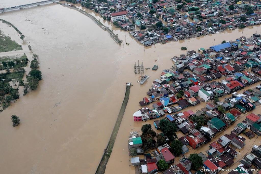 Dodental door tyfoon Vamco op Filipijnen loopt op