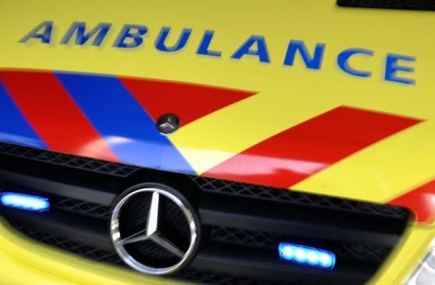 Harde botsing in Hoofddorp, een persoon naar ziekenhuis