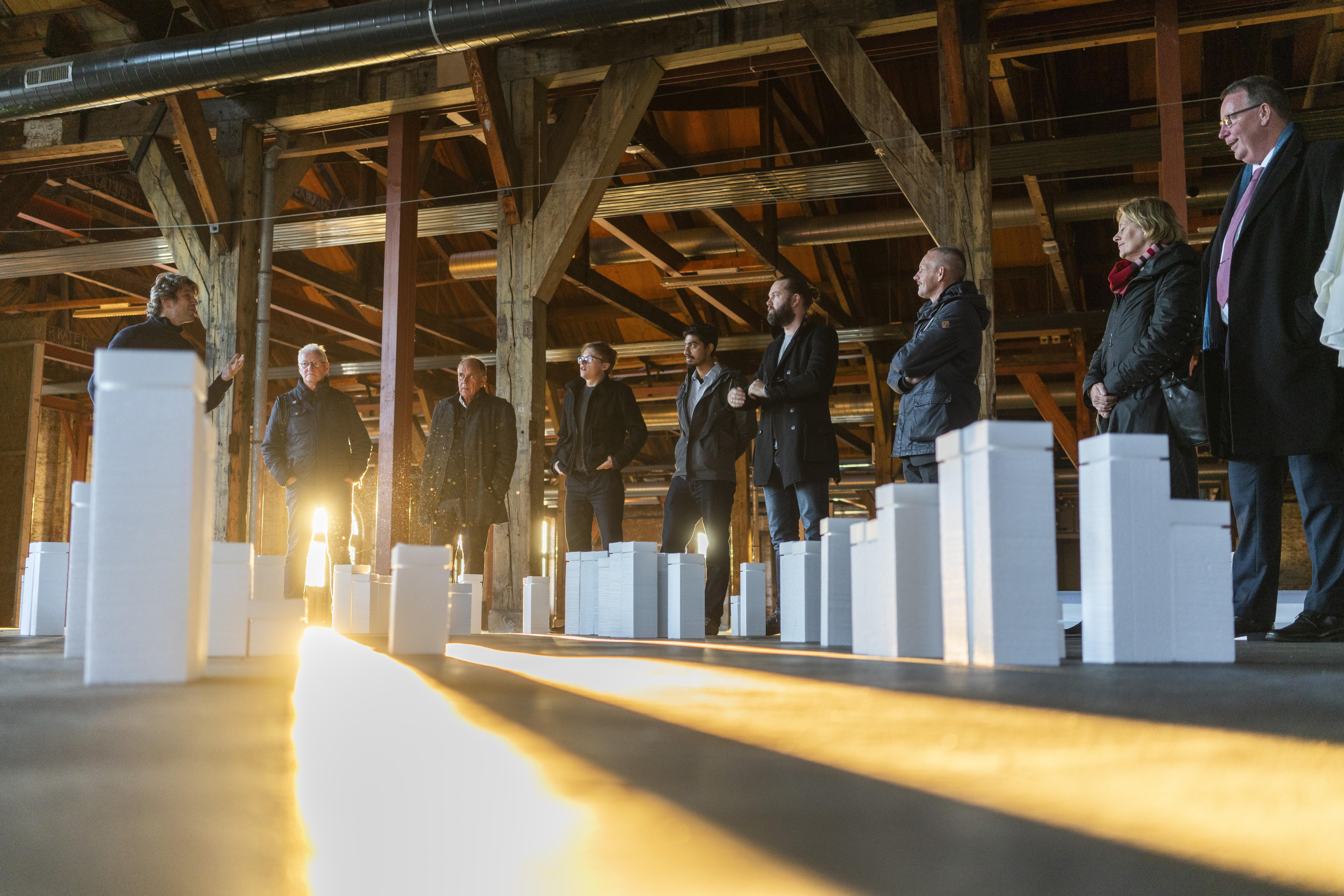 De gedenkplaats voor joodse slachtoffers wordt op 15 oktober onthuld in het stadspark van Den Helder