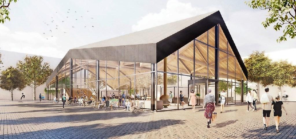 Vereniging van eigenaren winkelcentrum Schalkwijk maakt bezwaar tegen markthal, gezamenlijke wijkraden zijn wel enthousiast