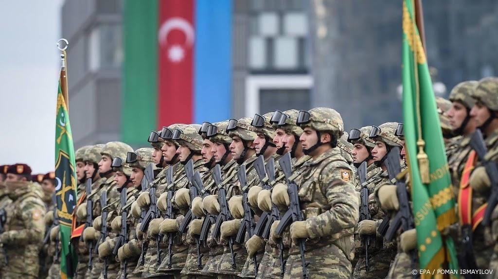 Azerbeidzjan heft staat van oorlog op in Nagorno-Karabach