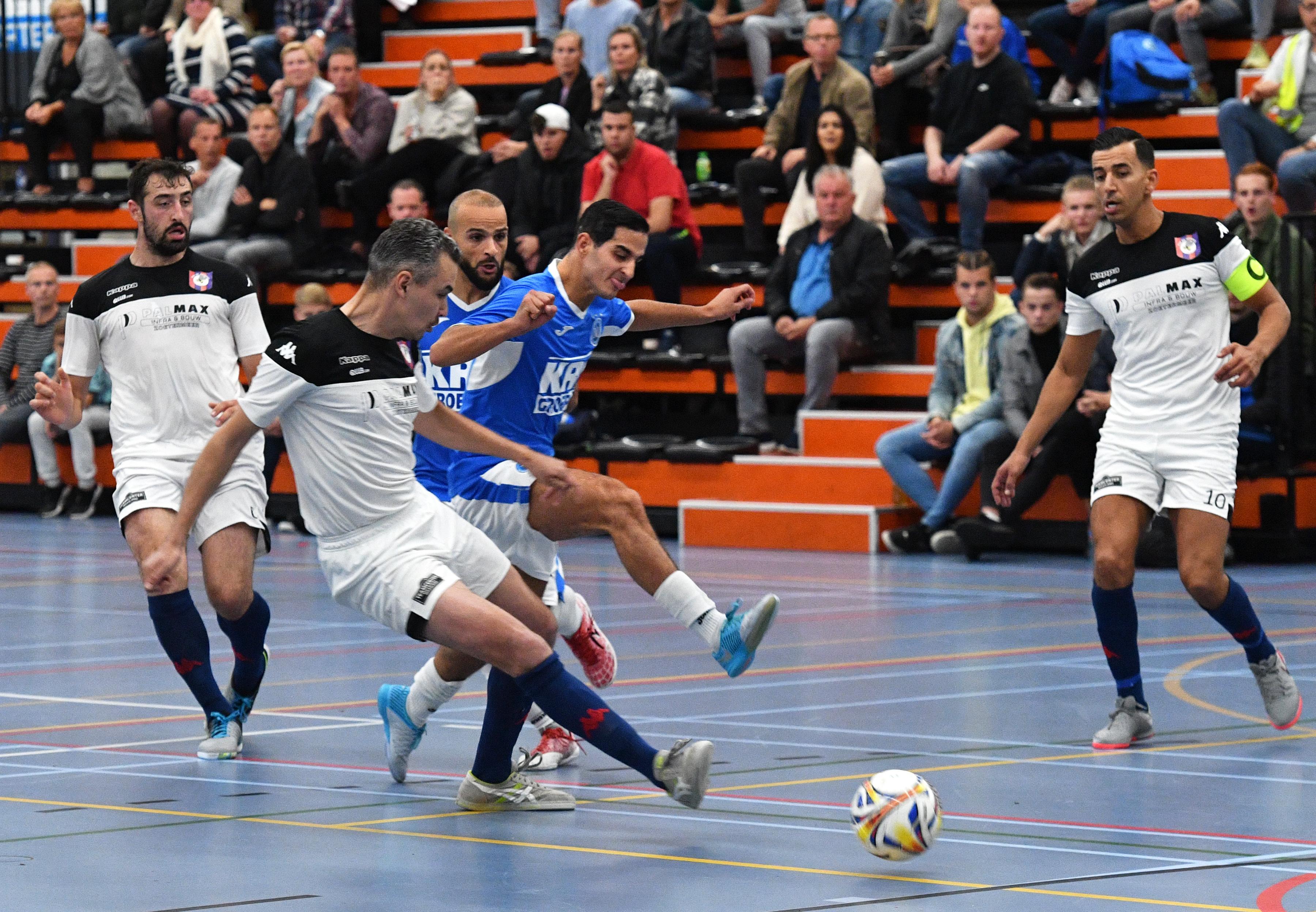 Zaalvoetballers FC Marlène lopen tegen eerste nederlaag aan omdat FCK/De Hommel veel effectiever is