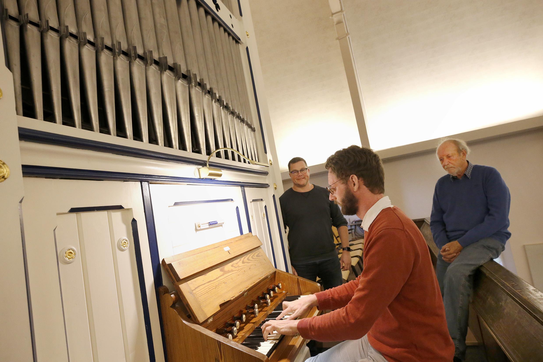 Het had weinig gescheeld of het nieuwe orgel van Wieringerwerf was afgevoerd door een oudijzerhandelaar