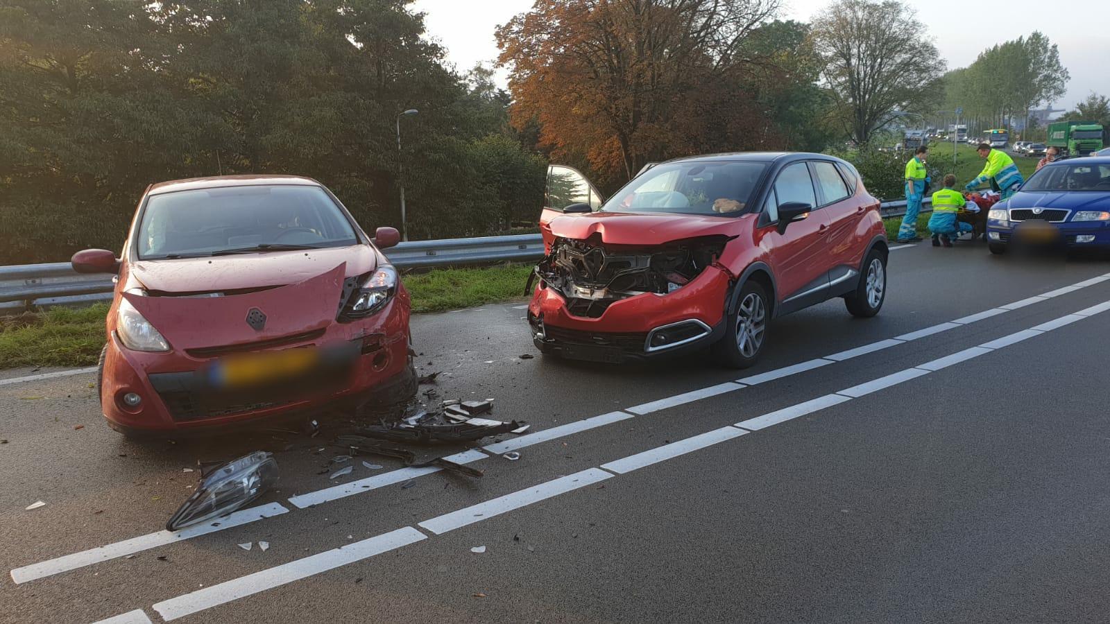 Twee gewonden bij ongeval op N244 in Zuidschermer