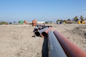 Pipelife wil prijswinnende rioolbuis van ingezameld kunststof ook in Enkhuizen toepassen