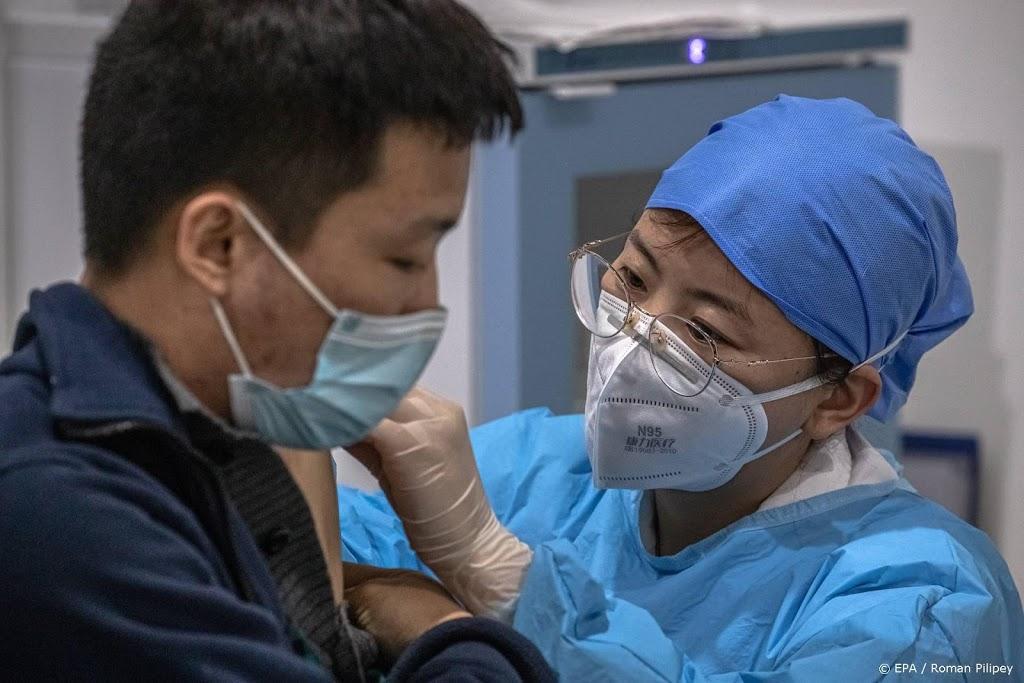 China geeft mensen vaccinatiepaspoort na coronaprik