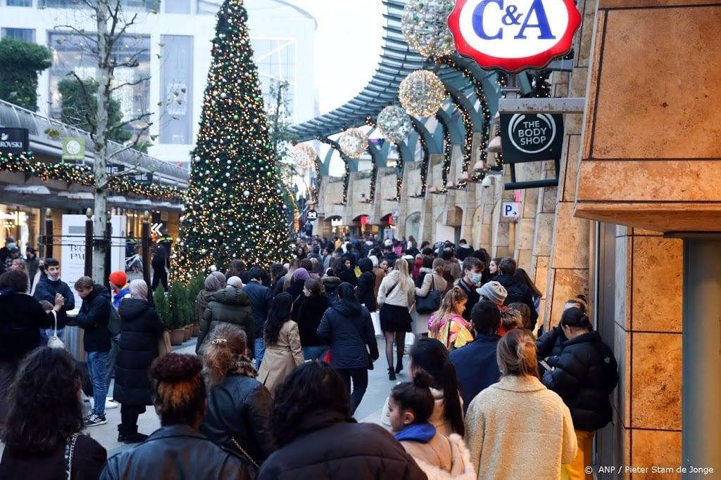 Winkels in drie steden eerder dicht door drukte
