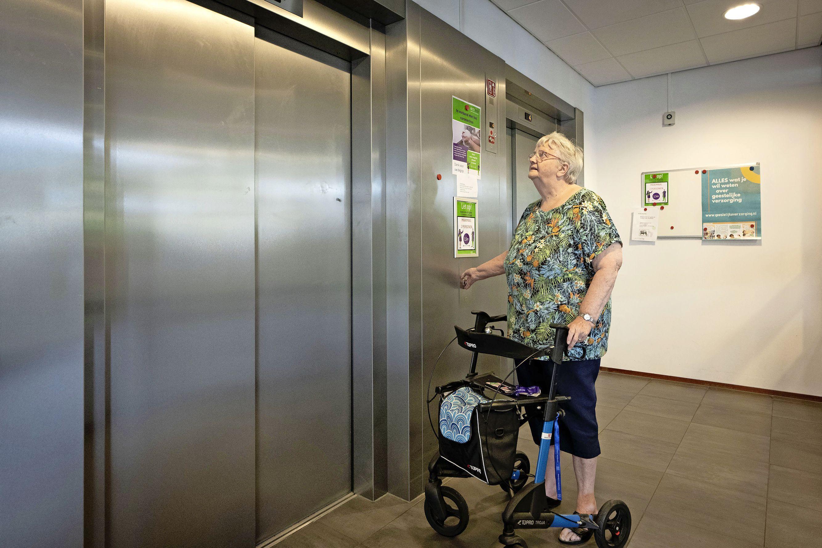 Het is weer mis met de liften in zorgcentrum Ommedijk in Leiderdorp: 'Een ramp'