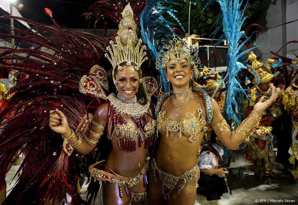 Carnavalsoptocht in Rio uitgesteld vanwege corona