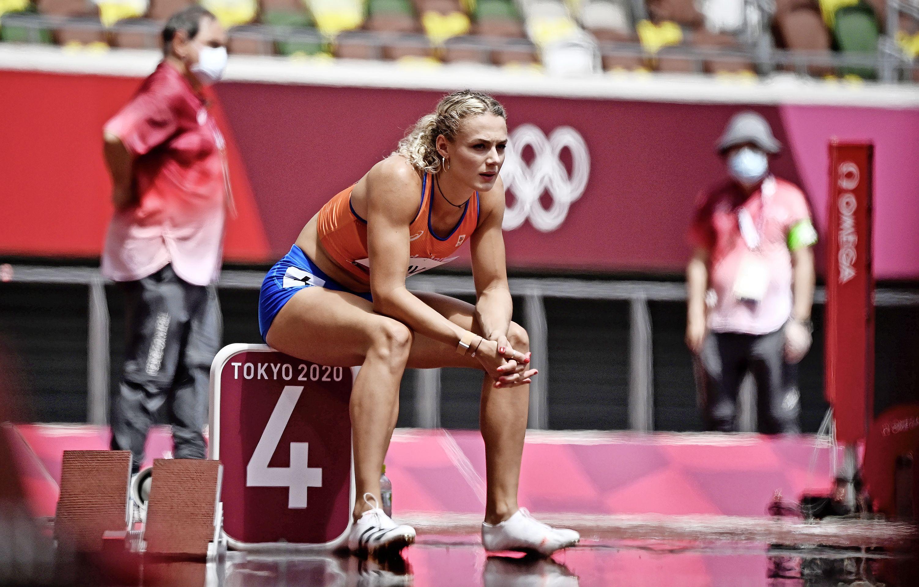 Atlete Klaver: 'Tokio lijkt wel een stoomcabine'