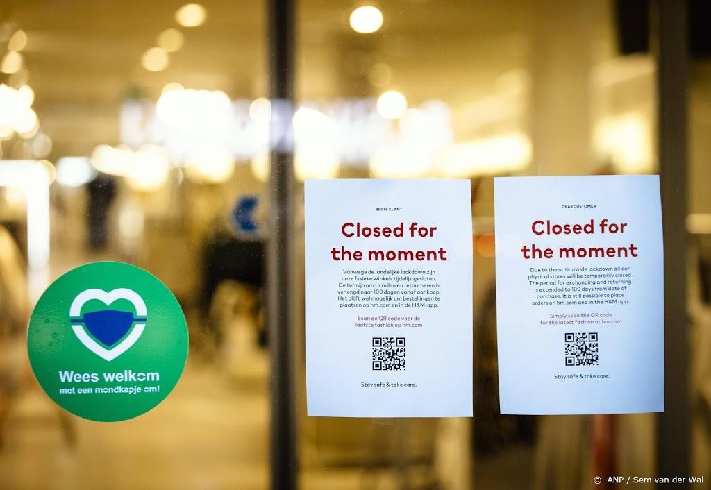 Winkelbranche teleurgesteld over winkelen op afspraak