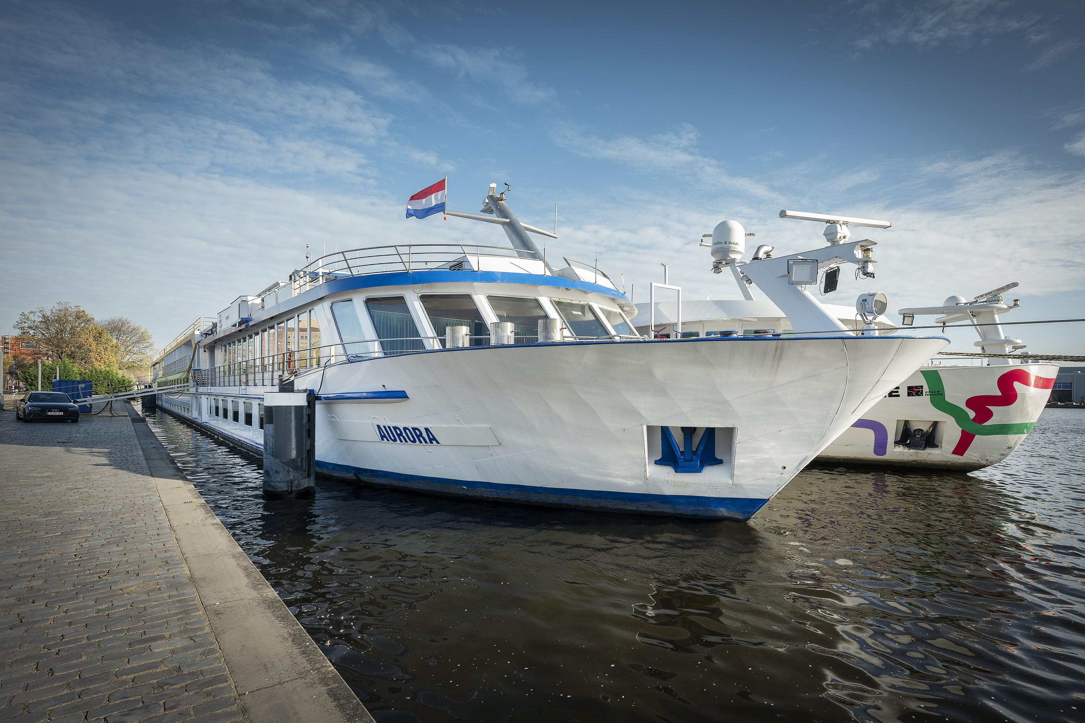 Cruiseschip Aurora klaar voor opvang Haarlemse daklozen