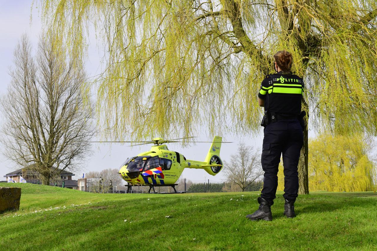 Vrouw ernstig gewond door dalende slagboom bij Haarlemmermeersche Golfclub in Cruquius