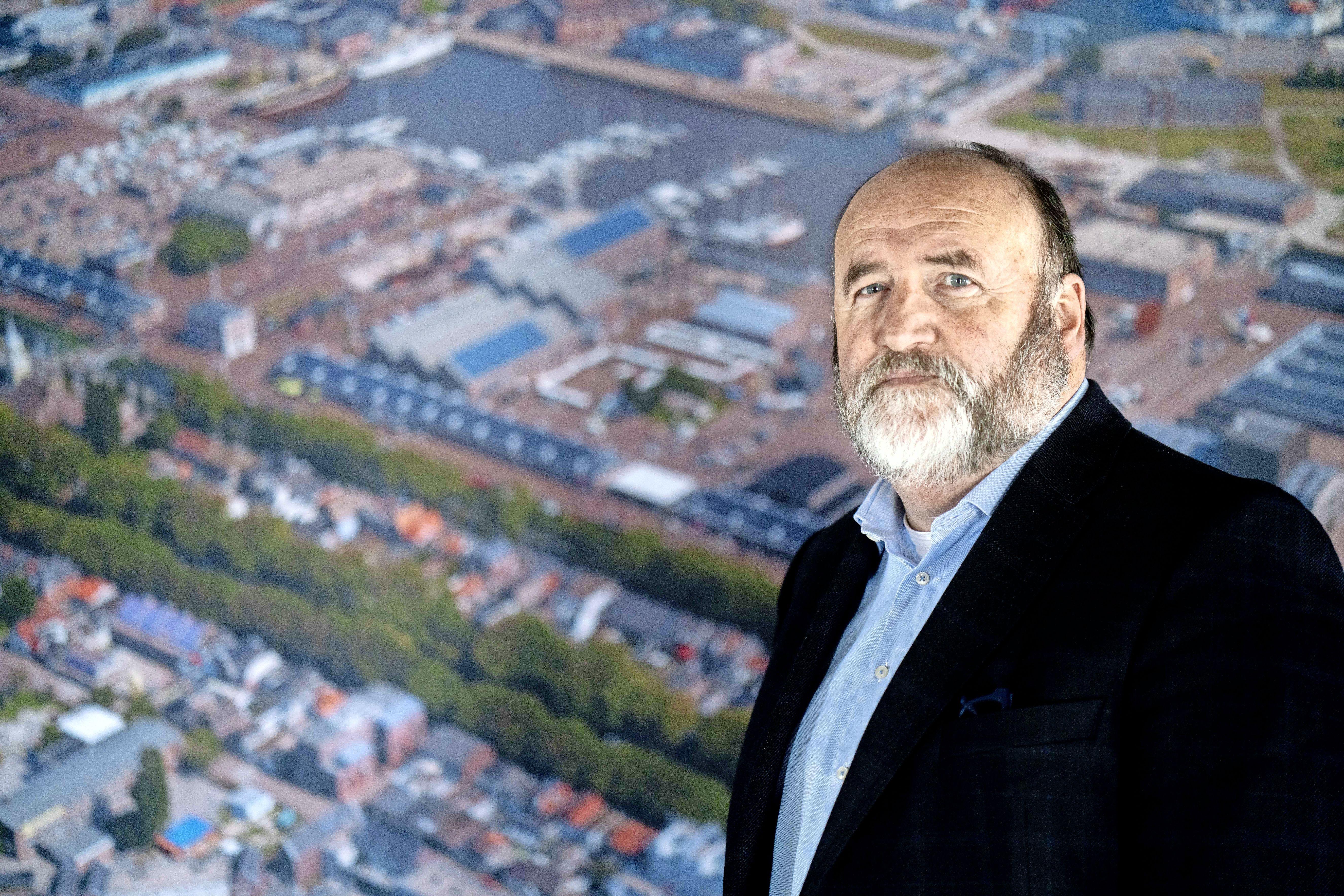 Hans Broekmeulen raakte verknocht aan de Oude Rijkswerf. 'Zonder Willemsoord zou Den Helder een heel saai stadje zijn'