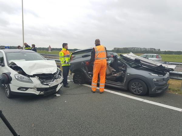 Ernstig ongeval op A27 bij Maartensdijk