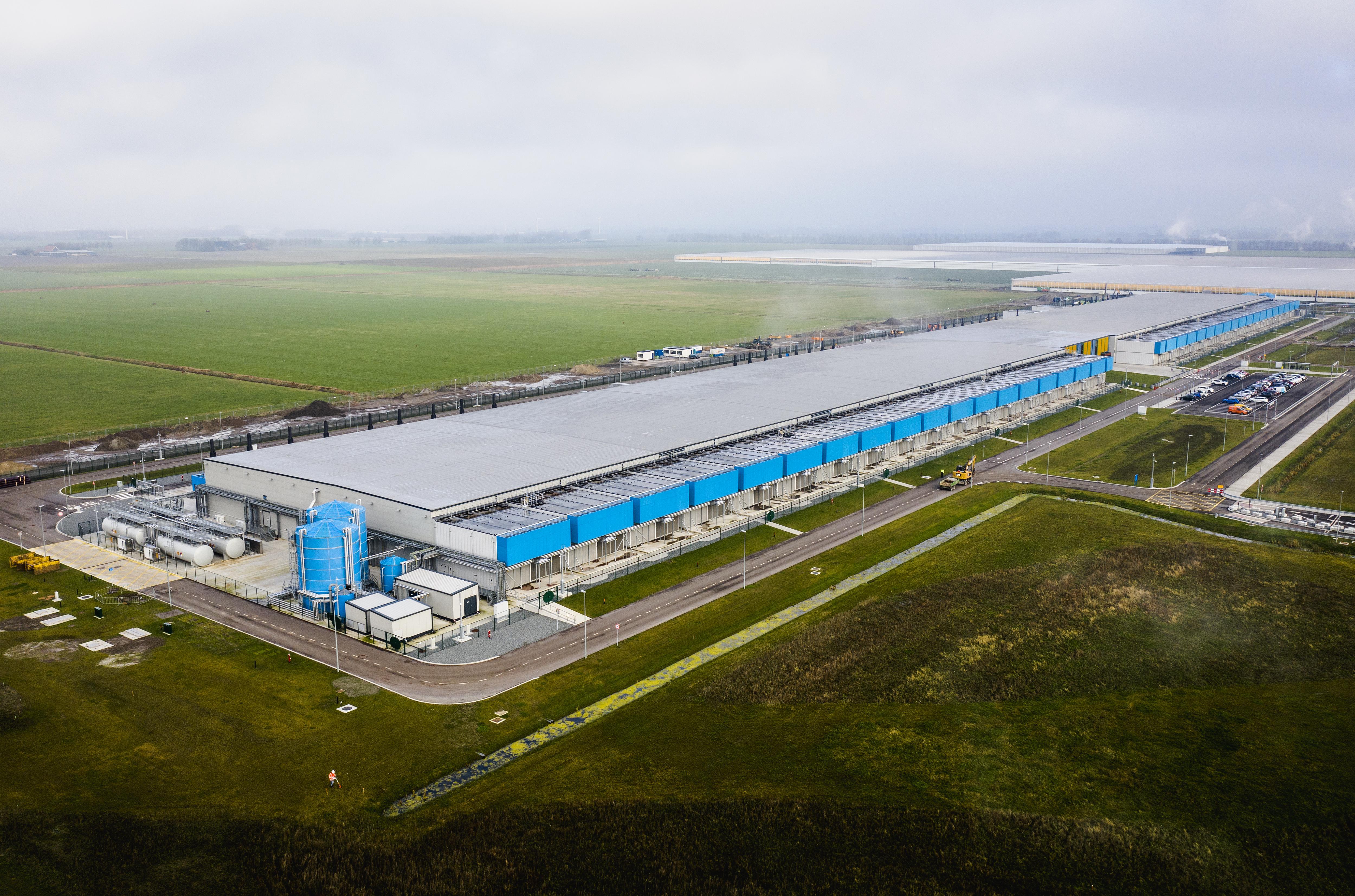 'Warme' leugen regeert in Wieringermeer over datacentra Microsoft en Google
