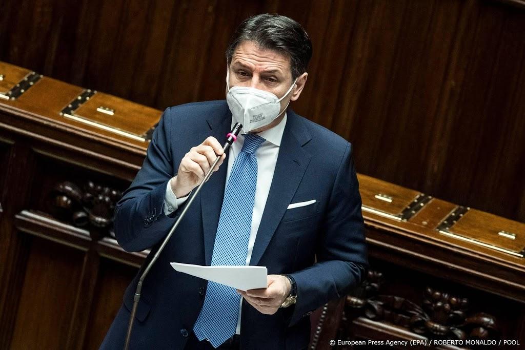 Italiaanse premier overleeft vertrouwensstemming