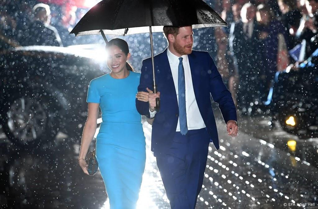 Witte Huis noemt openheid Harry en Meghan moedig