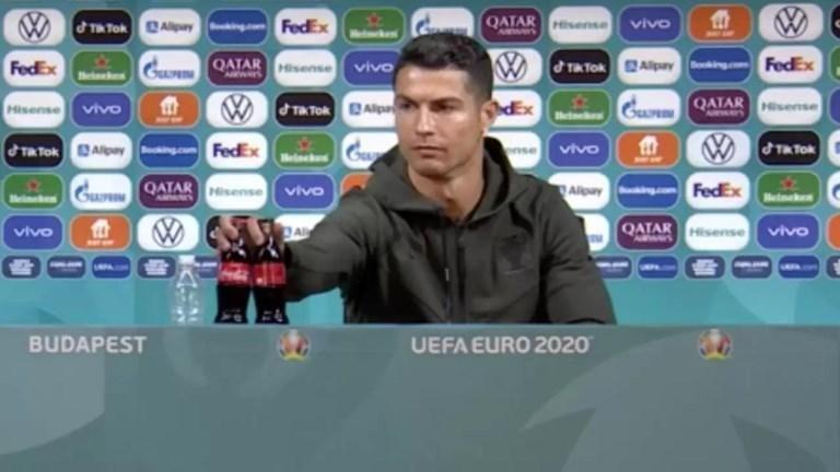 Verloor Coca-Cola inderdaad miljarden aan marktwaarde door Cristiano Ronaldo? Welnee