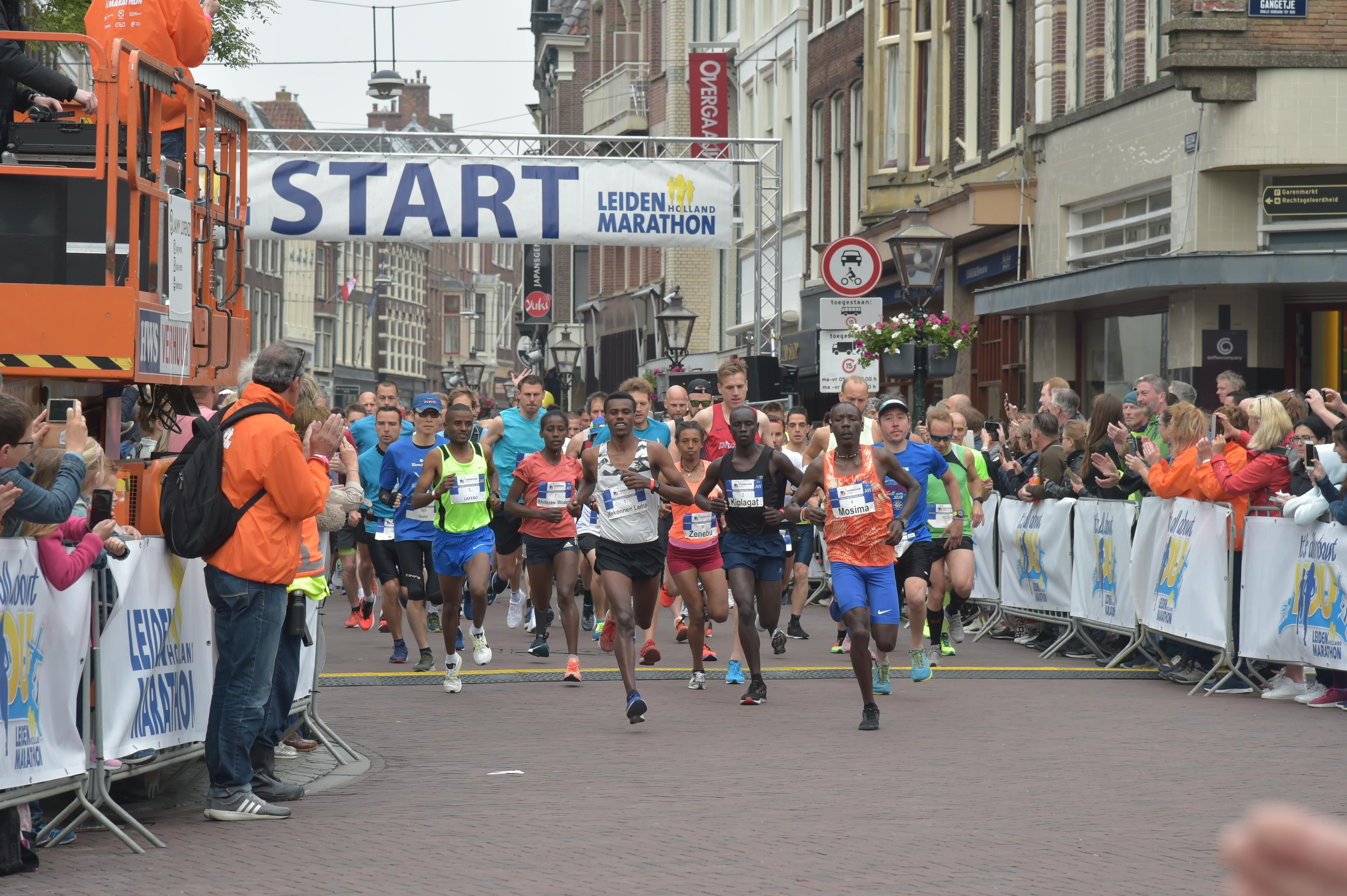 Leiden staat zondag in het teken van de marathon [video]