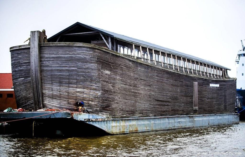 'Onzeewaardige' replica Ark van Noach aan de ketting in VK