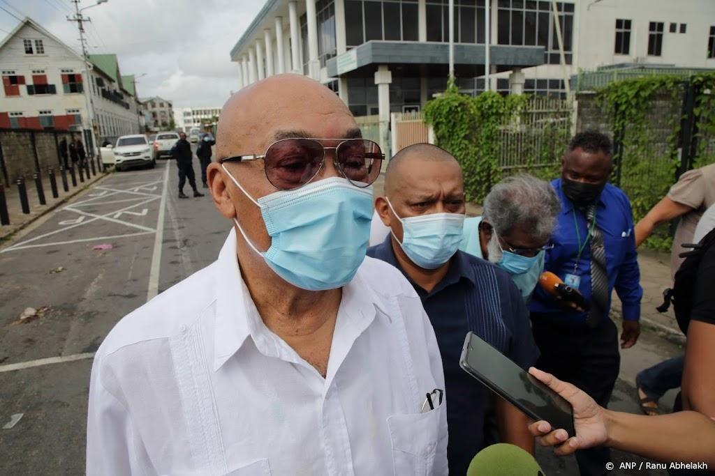 Krijgsraad vervolgt zaak Surinaamse oud-president Bouterse