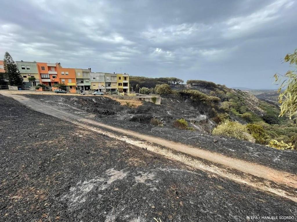 Bosbranden Sardinië onder controle, Sardiniërs maken balans op