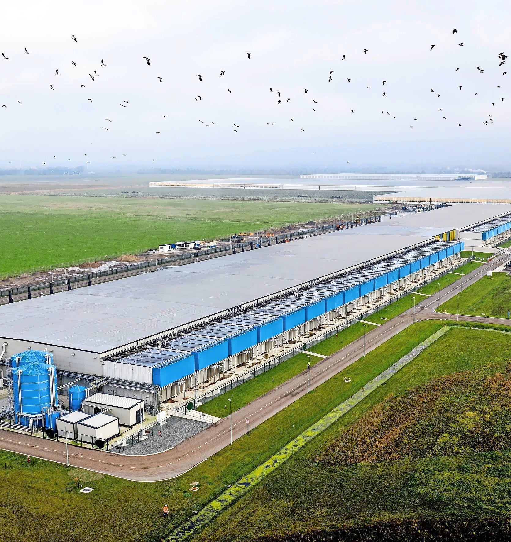 'Blij dat Google nog met datacenters wegblijft uit het open buitengebied van de Wieringermeer'